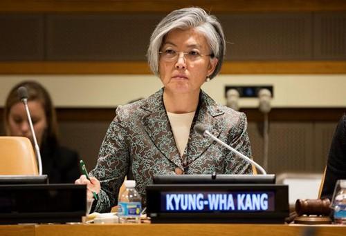 韩日承诺紧密合作 解决朝鲜核问题 - ảnh 1