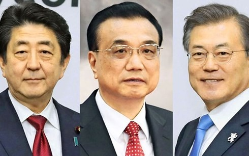 中日韩领导人会议:强调合作 - ảnh 1