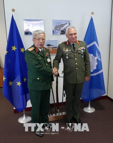 越南出席欧盟防务司令会议   - ảnh 1
