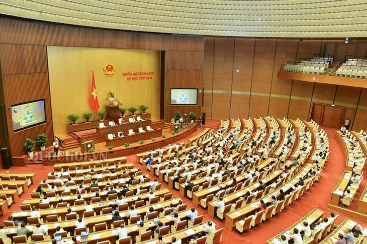 越南十四届国会五次会议进入最后一周 - ảnh 1