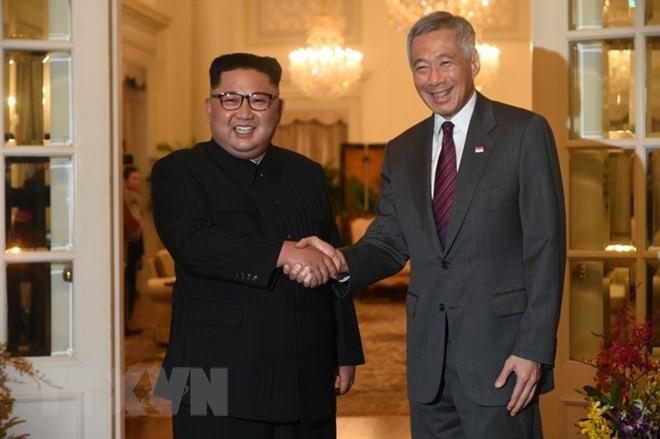 朝美领导人讨论新双边关系 - ảnh 1