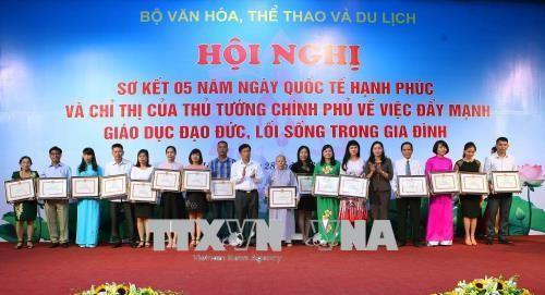越南政府副总理武德担:为过上幸福生活要良好完成三项任务 - ảnh 1