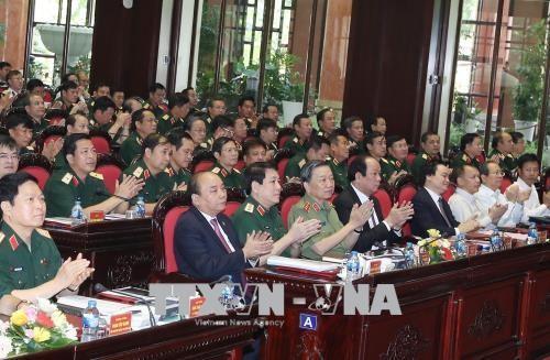 阮春福:提高越南人民军战斗力和素质 - ảnh 1