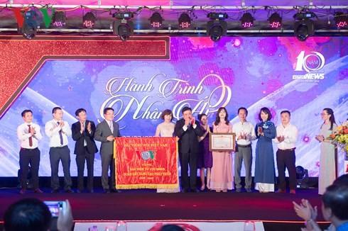 本台台长阮世纪出席VTC news成立十周年纪念活动 - ảnh 1