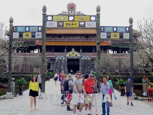 越南中部承天顺化省接待115万人次国际游客 - ảnh 1