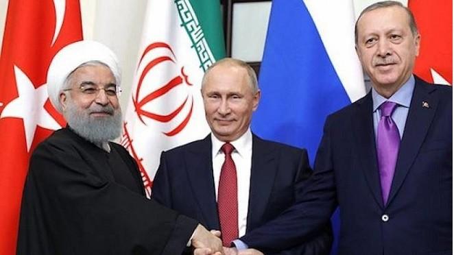 俄罗斯、伊朗和土耳其三方首脑会谈有可能于九月初举行 - ảnh 1