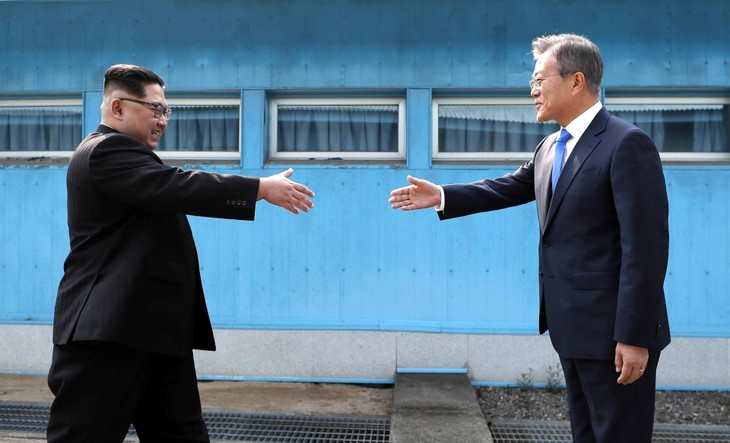 韩国呼吁举行第三次韩朝首脑会晤 - ảnh 1
