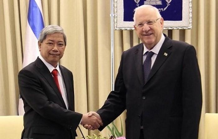 """越南驻以色列大使高陈国海:越南与以色列关系正进入""""黄金阶段"""" - ảnh 1"""