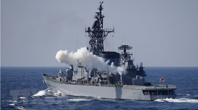 澳大利亚开始举行规模空前的海军联合军演 - ảnh 1