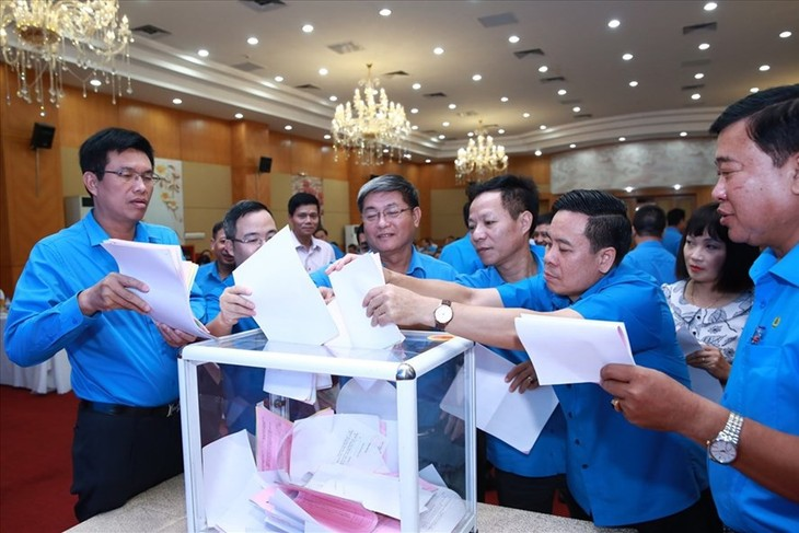 越南工会第十二次全国代表大会在河内开幕 - ảnh 1