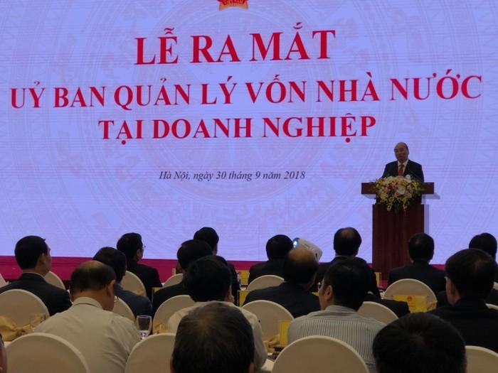 阮春福出席越南企业国有资本管理委员会成立仪式 - ảnh 1