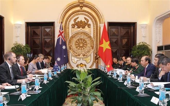 第6次越南与澳大利亚外交与防务副部长级战略对话举行 - ảnh 1