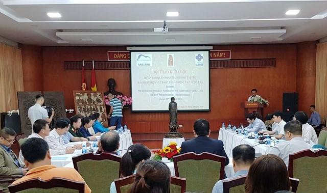 越南与日本推动博物馆藏品保管领域的合作 - ảnh 1