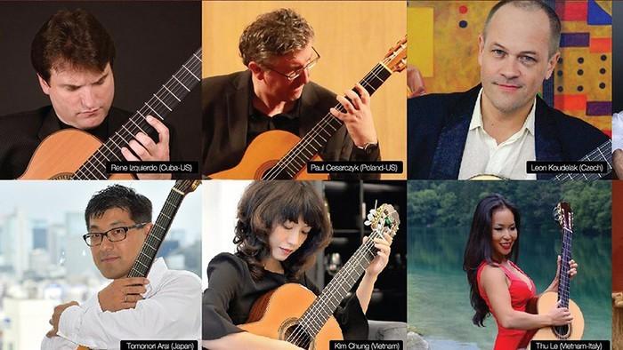 第五次西贡国际吉他艺术节举行 - ảnh 1