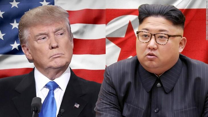 朝中社:朝鲜领导人金正恩与美国总统特朗普将继续进行建设性对话 - ảnh 1