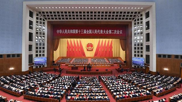 第十三届中国全国人民代表大会第二次会议开幕 - ảnh 1