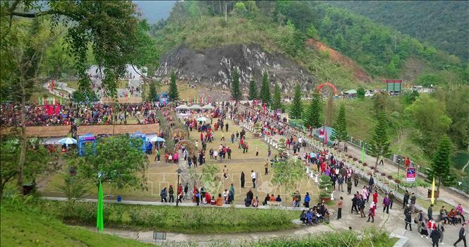 越南高平省举行2019年第一次北坡溯源节 - ảnh 1