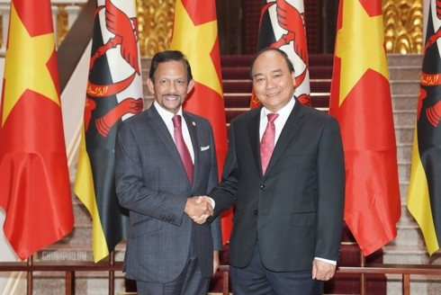 越南政府总理阮春福建议越南与文莱推动海洋合作 - ảnh 1