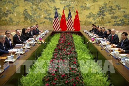 第九轮美中贸易谈判在华盛顿结束 - ảnh 1
