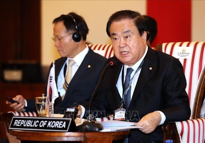 韩国国会议长建议就修宪问题举行全民公投 - ảnh 1