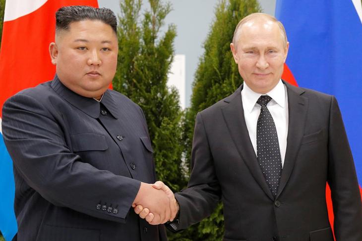"""俄朝首脑会晤:普京对于此次""""金普会""""取得的结果表示满意 - ảnh 1"""