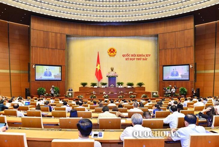 越南国会讨论《酒类危害预防控制法(草案)》 - ảnh 1
