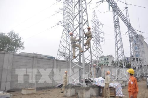 越南保障经济发展中的电力供应 - ảnh 1