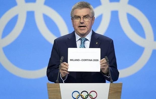 意大利将承办2026年冬奥会和冬残奥会 - ảnh 1