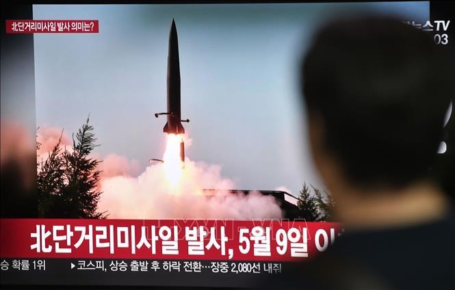 朝鲜发射短程导弹 - ảnh 1