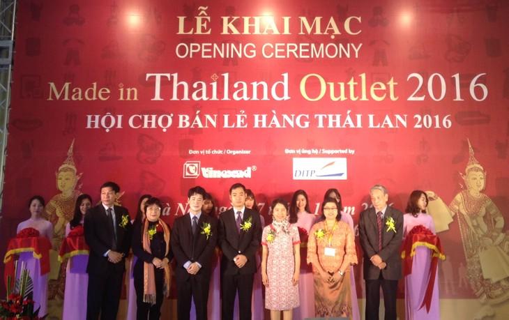 เปิดงานแสดงสินค้าไทย MADE IN THAILAND OUTLET 2016 - ảnh 1