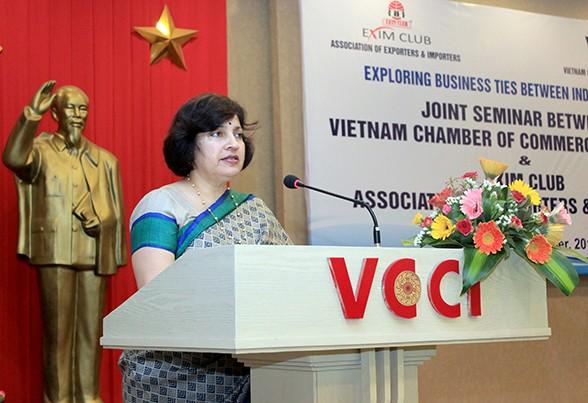 เวียดนาม – อินเดียผลักดันความร่วมมือทางเศรษฐกิจและการค้า  - ảnh 1