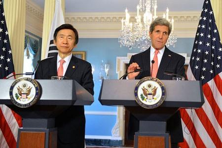 สาธารณรัฐเกาหลีและสหรัฐฯผลักดันการเจรจา 5 ฝ่ายเกี่ยวกับปัญหานิวเคลียร์ของเปียงยาง - ảnh 1