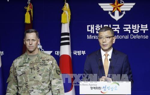 สาธารณรัฐเกาหลีและสหรัฐบรรลุข้อตกลงเกี่ยวกับการติดตั้งระบบป้องกันขีปนาวุธ THADD - ảnh 1