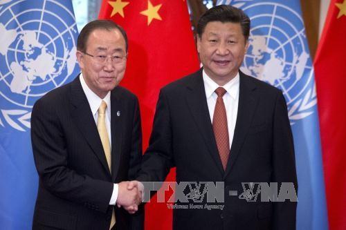 สหประชาชาติและสหรัฐเรียกร้องการแก้ไขปัญหาทะเลตะวันออกด้วยสันติวิธี - ảnh 1