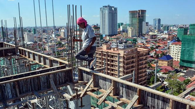การลงทุนด้านการก่อสร้างในกัมพูชาขยายตัวอย่างรวดเร็ว - ảnh 1