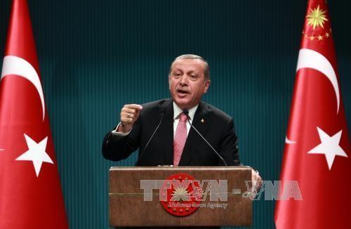 รัฐบาลตุรกีประกาศสถานการณ์ฉุกเฉินทั่วประเทศ  - ảnh 1