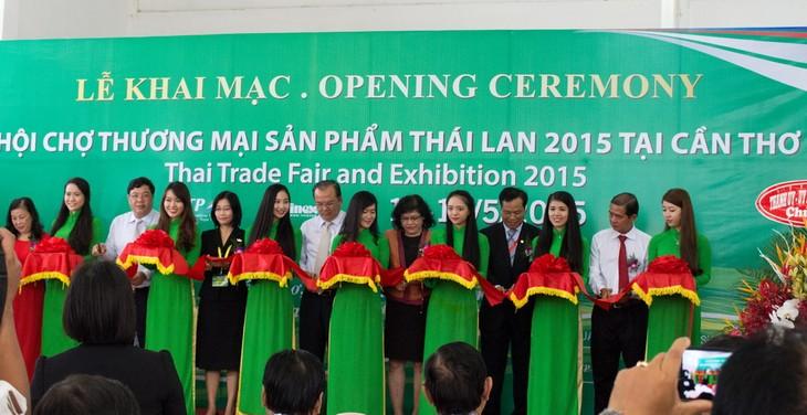 เปิดงานแสดงสินค้าไทยปี 2016 ณ นครเกิ่นเทอ  - ảnh 1