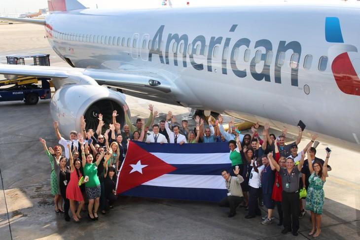 สายการบินของสหรัฐจะเปิดเส้นทางบินพาณิชย์ไปยังคิวบาในสัปดาห์หน้า - ảnh 1