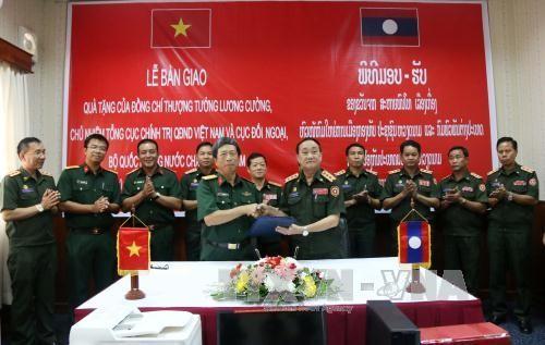 เวียดนามสนับสนุนกองทัพหลักต่างๆ ของลาวพัฒนาสู่ความทันสมัย - ảnh 1