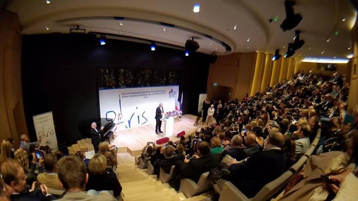 В Париже открылся XVIII ежегодный Всемирный конгресс русской прессы - ảnh 1