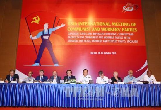 В Ханое открылась 18-я международная встреча коммунистических и рабочих партий - ảnh 1