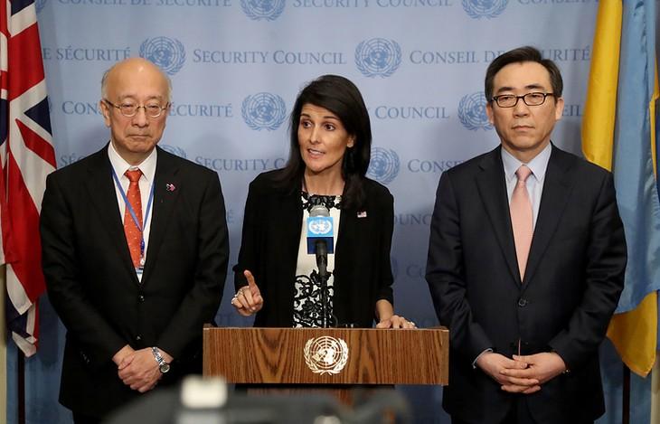 США не исключают никаких вариантов действий в ответ на угрозу КНДР - ảnh 1