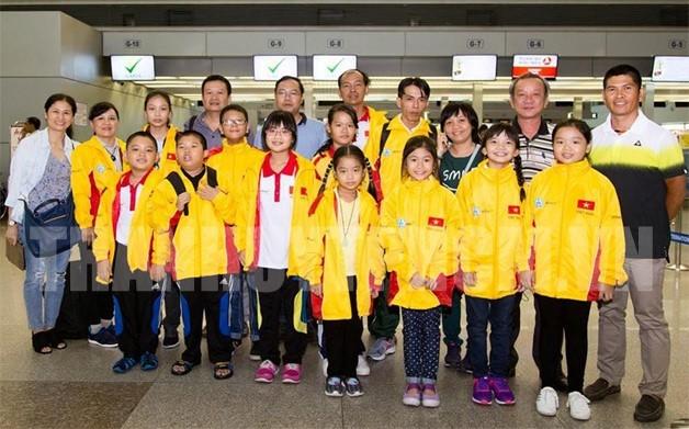 Вьетнамские шахматисты завоевали много медалей на Юношеском чемпионате мира по шахматам  - ảnh 1