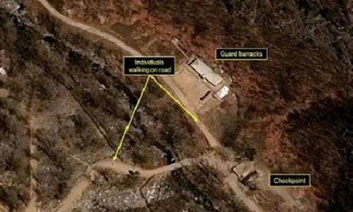 США обнаружили деятельность в подземном полигоне ядерных испытаний в КНДР - ảnh 1