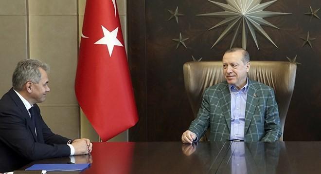 Президент Турции принял министра обороны России - ảnh 1