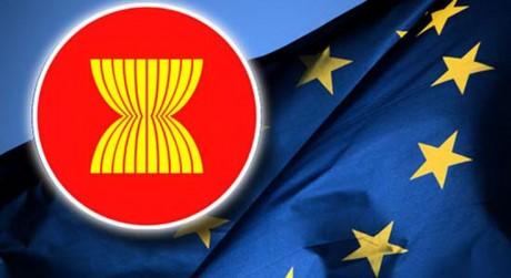 Вьетнам принял участие в 24-й конференции старших должностных лиц АСЕАН - ЕС - ảnh 1