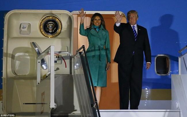 Президент США начал свой визит в Польшу - ảnh 1