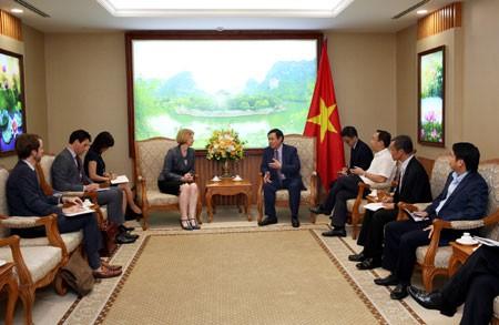 Активизация сотрудничества между Вьетнамом с Индонезией, Новой Зеландией и Австралией - ảnh 1
