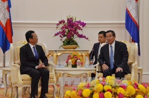 Хенг Самрин поддерживает активизацию вьетнамо-камбоджийского сотрудничества - ảnh 1