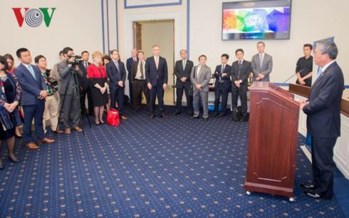 Представлена группа конгрессменов по поддержке АТЭС в Палате представителей США - ảnh 1